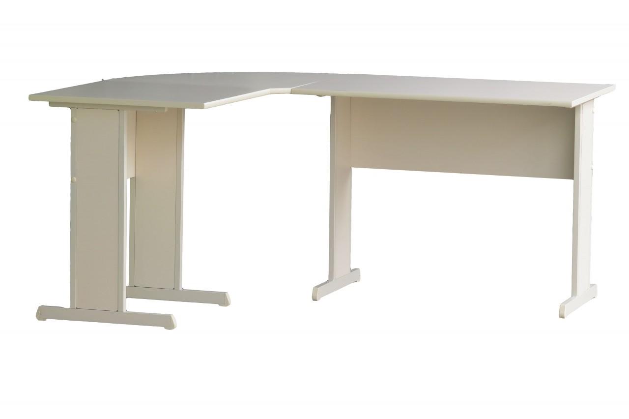 Mesa em l com 2 gavetas absoluta m veis de escrit rio - Protector mesa escritorio ...